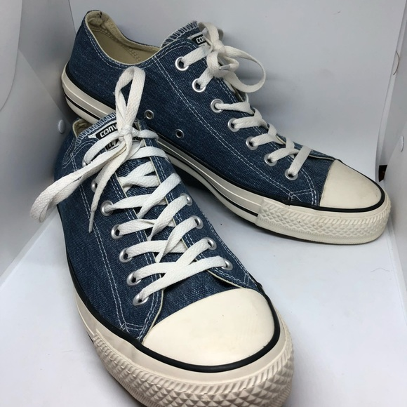 Converse Other - Converse All Star Ox Denim Blue Low Top Sneakers 3c1726cd7